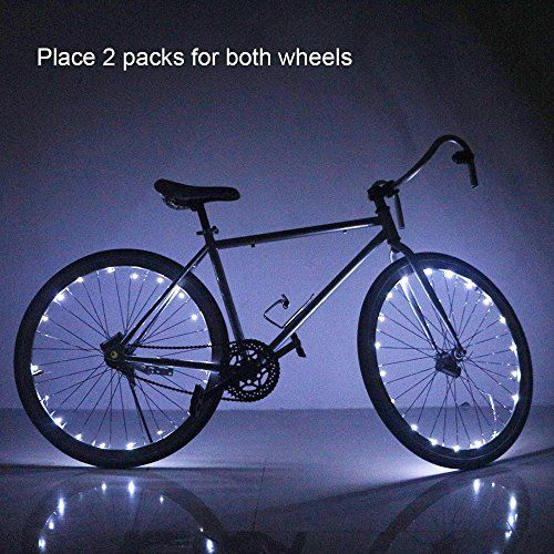 (Soondar Water Resistant Cool 20 LED Bicycle Bike Cycling Wheel Light Safety Light Spoke Light Lamp Lightweight Accessory Review) Buy-Accessories.net