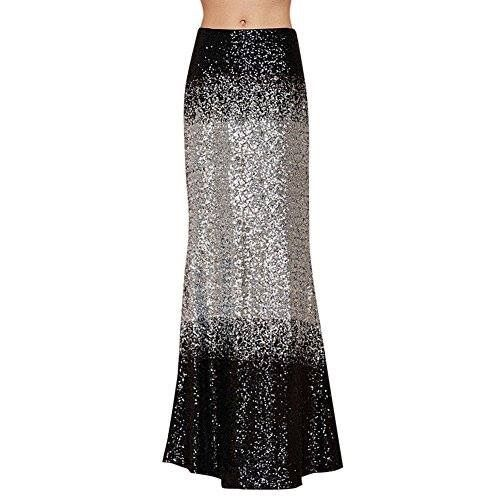 Tie dye bling maxi skirt  Shop the bling collection here: http://amzn.to/2lj9uVW