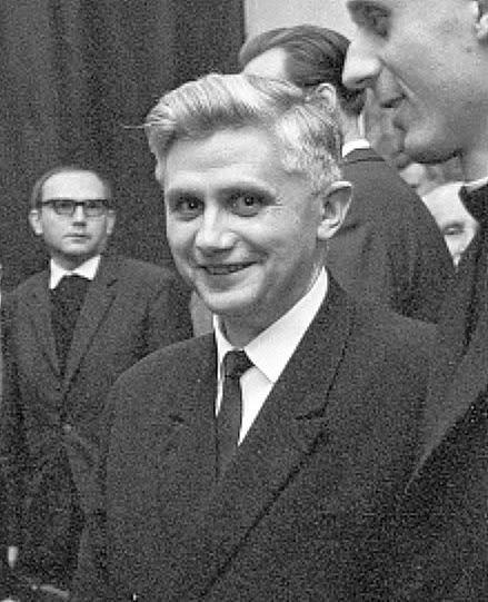Pray for Vocations to the Priesthood and Religious Life! You never know who will end up laboring in the vineyard...like young Joseph Ratzinger here.