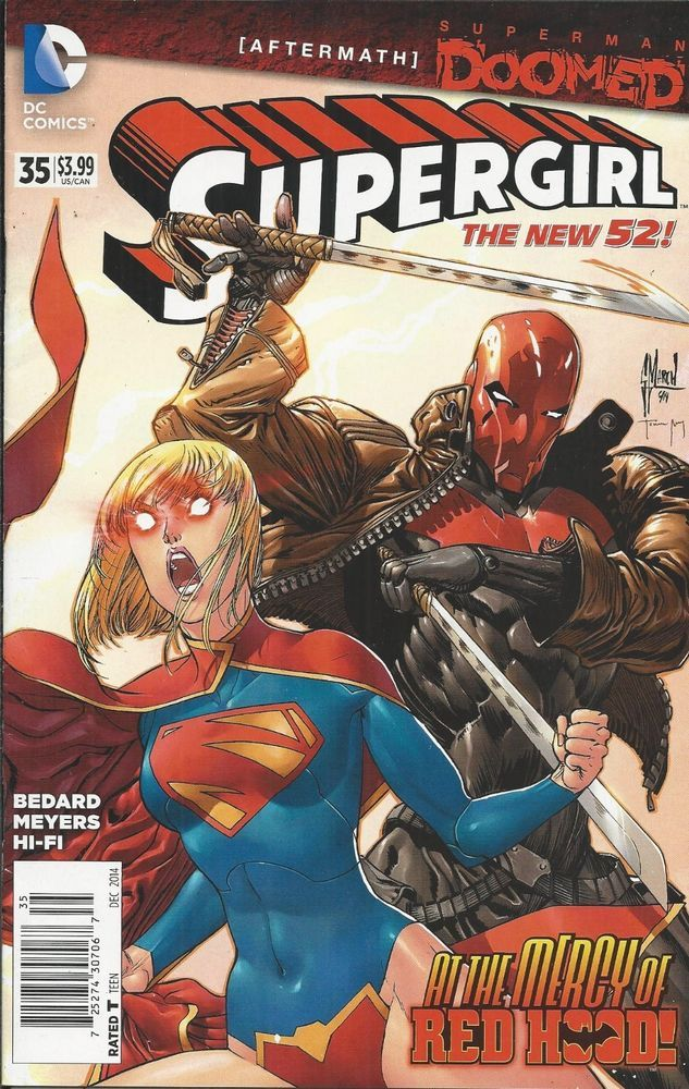 DC Supergirl comic issue 35 The new 52!