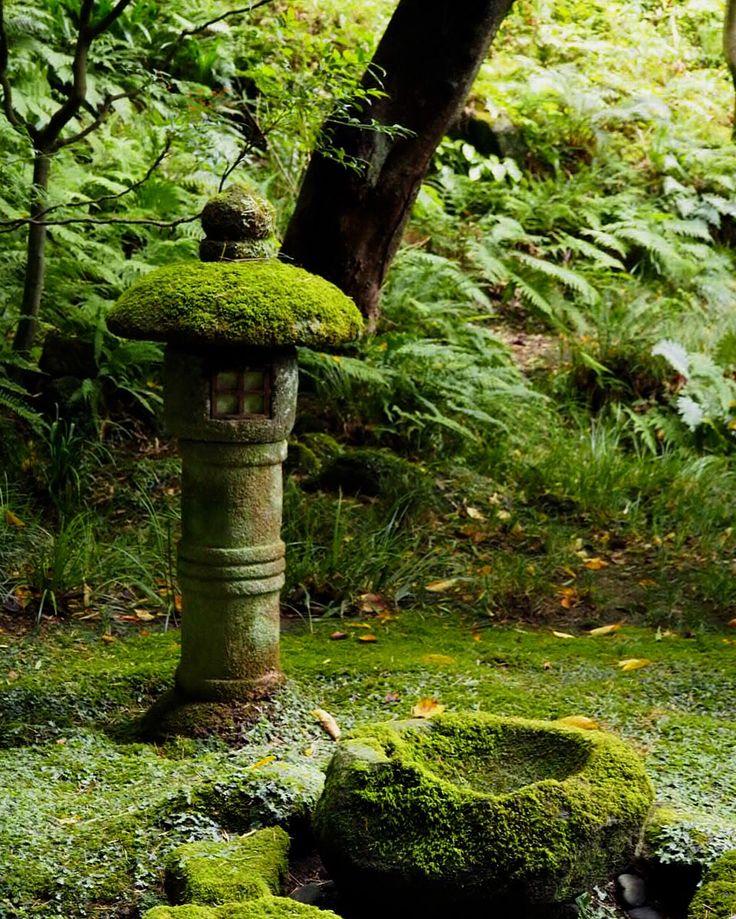 Japanese Stone Lantern - eastern Kamakura, Hokokuji (報国寺, Hōkokuji) is a small temple of the Rinzai Sect of Zen Buddhism.