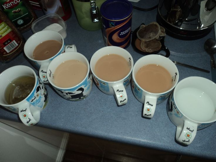 Tea, Coffee, Herbal, Fruity, Hot Choc, Milky Water - however you have your cuppa we can sort it!