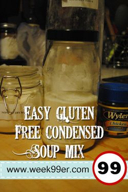 Easy Gluten Free Condensed Soup Mix