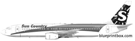 boeing 737 800 02 - BlueprintBox.com - Free Plans and Blueprints of Cars, Trailers, Ships, Airplanes, Jets, Scifi and more...