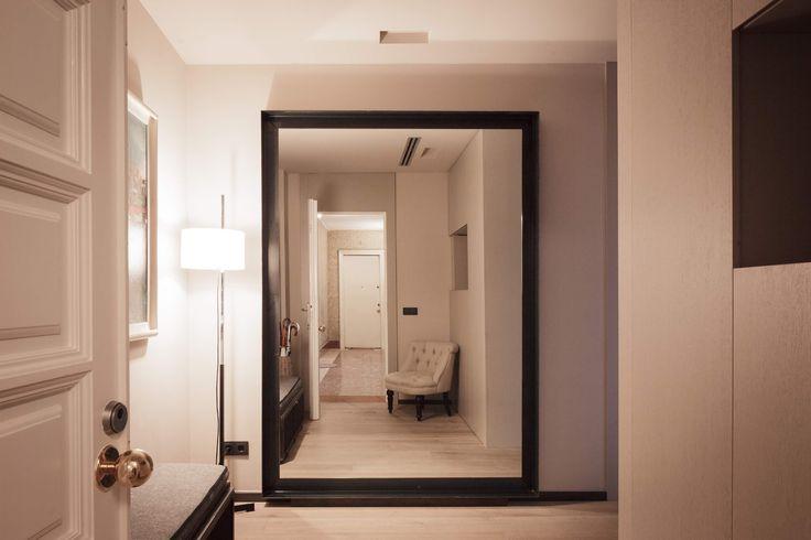 Coblonal Interiorismo Balmes Espejo recibidor