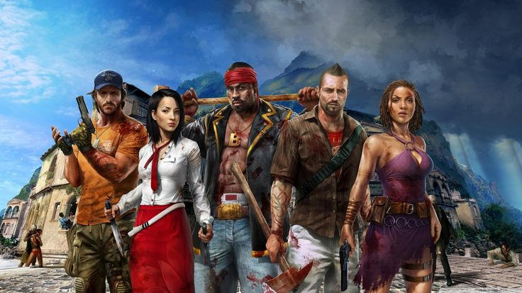 Dead Island Riptide Official HD desktop wallpaper Widescreen