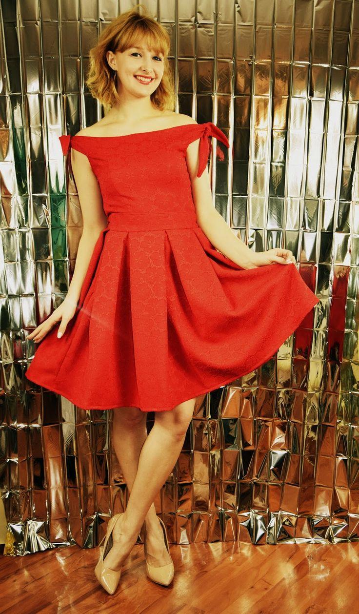 Haligashka: Czerwona sukienka