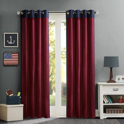 Mi-Zone Liam Single Curtain Panel