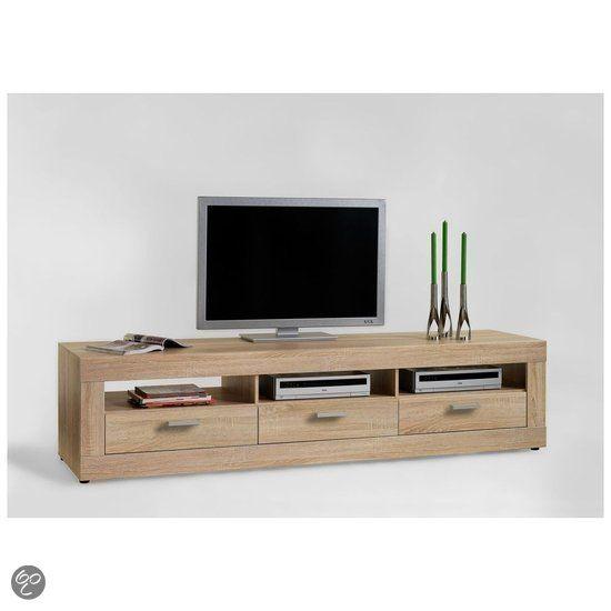 bol.com | Woonexpress tv meubel Drimmelen - Naturel | Wonen