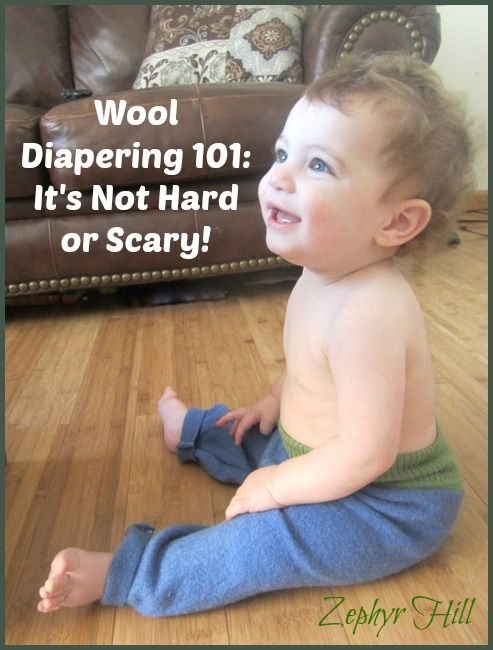 Wool Diapering 101 (It's Not Hard or Scary) #clothdiapers
