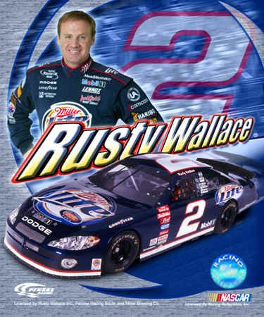 going to nascar races...rusty wallace was the favorite