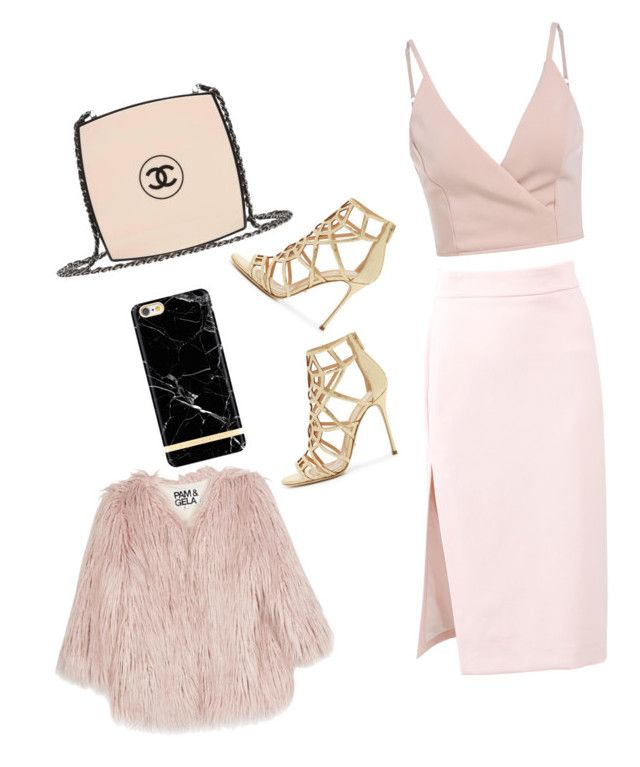 Untitled #1 by camizc on Polyvore featuring polyvore, fashion, style, Pam & Gela, MSGM, Sergio Rossi, Chanel and clothing