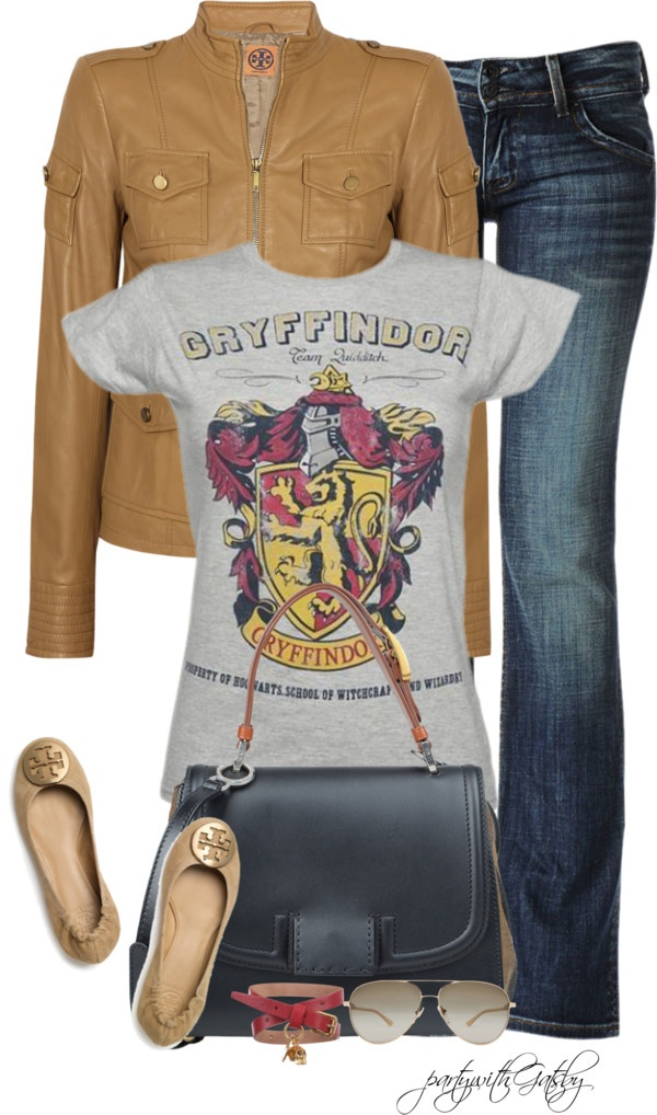"""""""Team Gryffindor!"""" by partywithgatsby on Polyvore"""