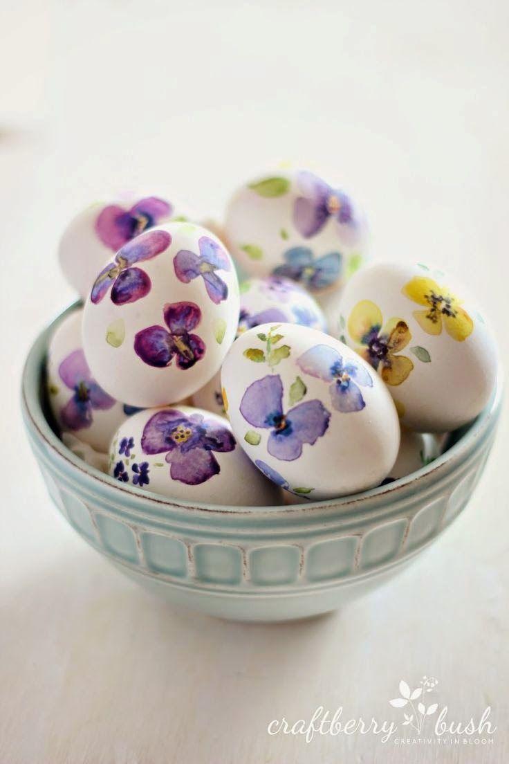 Húsvéti dekoráció a konyhából