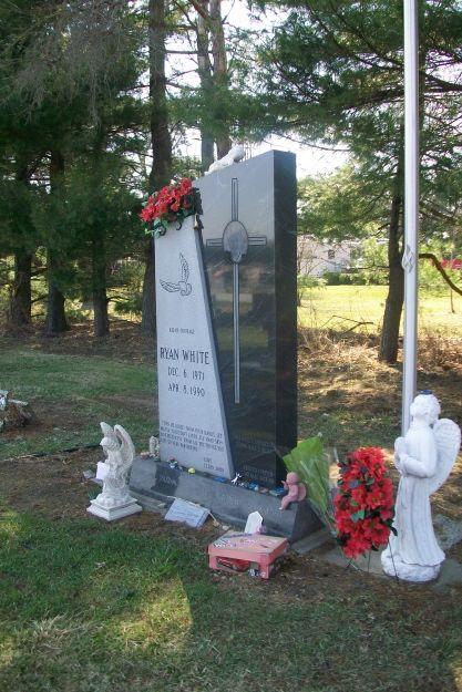 ryan white gravesite