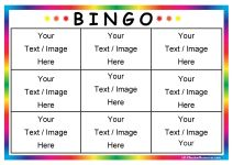 bingo-board-template and a link to a free, web-based Bingo card generator.