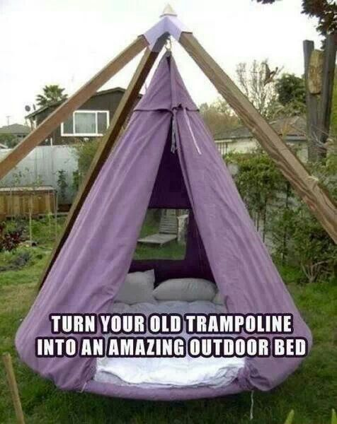 Another great trampoline idea