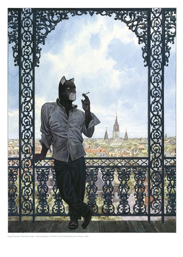 Blacksad by Juanjo Guarnido (http://bd.amiens.com/boutique/fiche_produit_52.html)