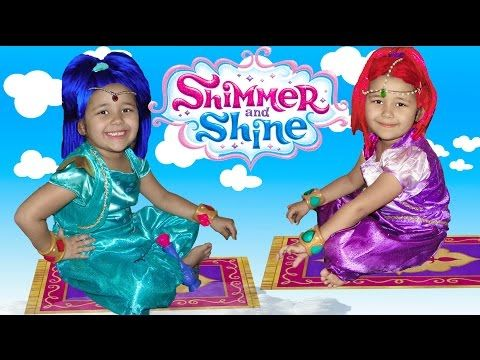 Shimmer and Shine Disney Princess Castle Power Wheels Dress Up Ball Pit Toys - YouTube