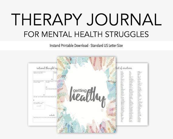 Die Therapie-Zeitschrift für psychische Gesundheit Kämpfe ist die gründlichste Zeitschrift in meinem Shop und wurde entwickelt, um Ermutigung, Anerkennung und Liebe zu den leidenden von jedem Thema psychische Gesundheit oder allgemeine Leben Kampf.  Seiten enthalten IN diesem LISTING [35 gesamt]  [12] Zeitschrift behandelt [1] klärende Werte [1] kognitive Verhalten Gedanken Log [1] tägliche Stimmung Tracking [1] Ihre Gefühle beschreiben [1] Emotion Log [1] Spaß Aktivitätsprotokoll [1] Ziele…