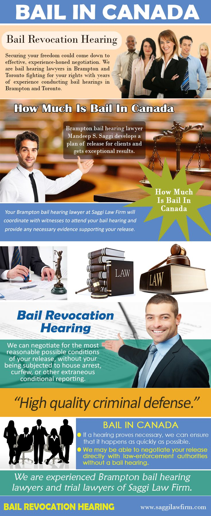 Try this site http://www.alternion.com/users/BramptonCriminal for more information on Bail In Canada. Bail and the process can be intimidating and confusing. Posting a bail in Canada with a licensed bail bondsman is one of the best ways to ensure you can properly defend your innocence at your trial. Follow us http://www.lookuppage.com/users/mandeepsaggi