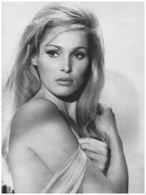 Ursula Andress...the original Bond Girl