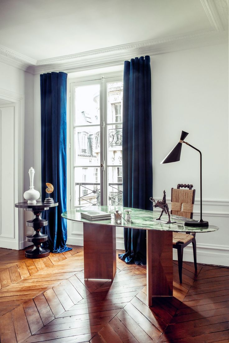 270 best celebrity homes images on pinterest real estates hilary swank just finished decorating her paris apartment and ad gets the first look