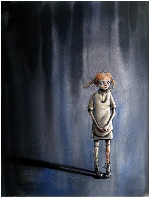 deprimert datter av Lisa Aisato