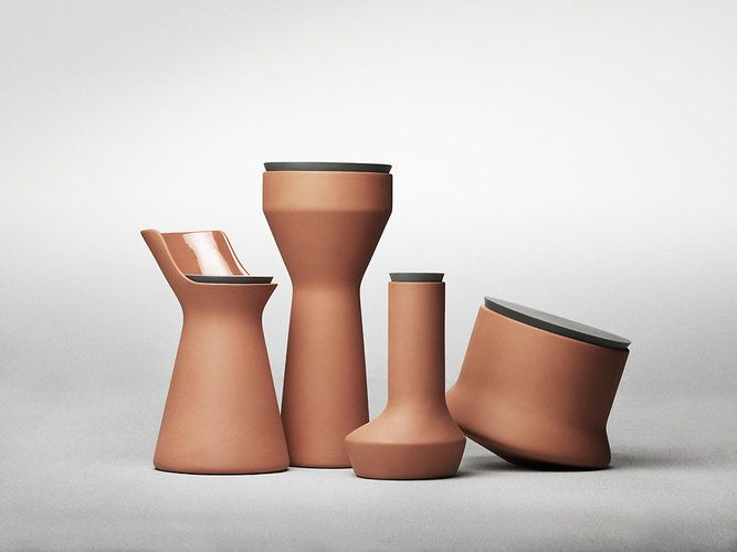 Terracotta Containers, Made Hyper Modern And Hyper Functional | Co.Design: business + innovation + design