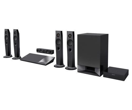 Hi-Res Blu-Ray Disc™ Home Theater System
