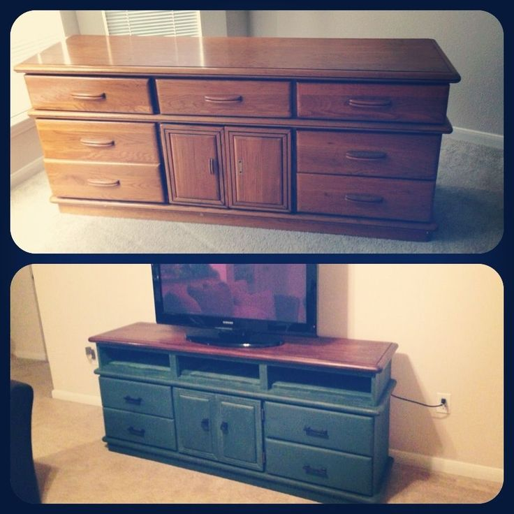 Color idea for TV stand