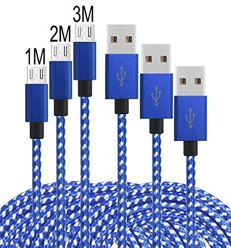 Oferta: 10.99€ Dto: -63%. Comprar Ofertas de Leginda Cable Micro USB [3 Pack] 2.0 USB cargador nylon trenzado de Android para Samsung Galaxy, Android Tablets y Smartphone barato. ¡Mira las ofertas!