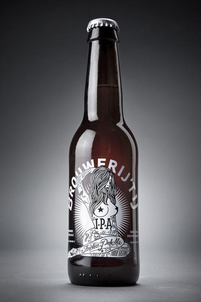 Brouwerij 't Ij IPA  Designed by Redthumb | Country: The Netherlands