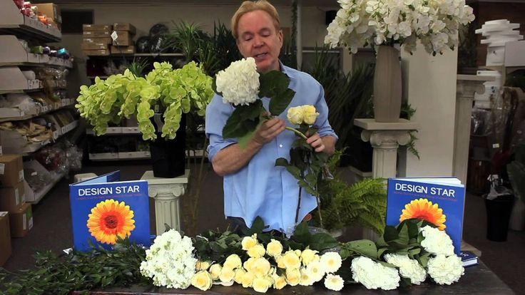 Michael Gaffney Floral Design - Creating A Bridal Bouquet
