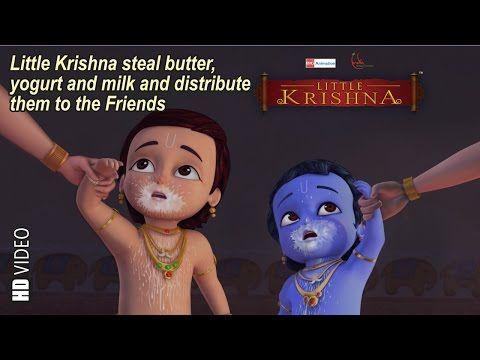 Tarangam Tarangam and Little Krishna Telugu Rhymes Collection   Infobells - YouTube