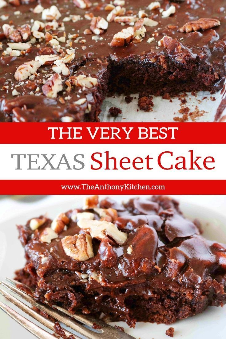 Original Texas Sheet Cake With Buttermilk Recipe Texas Sheet Cake Recipe Sheet Cake Recipes Easy Chocolate Desserts
