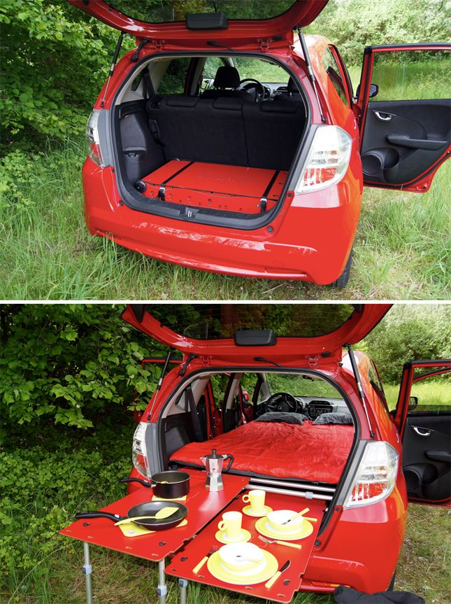 Camping in your car just got *way* more fun.
