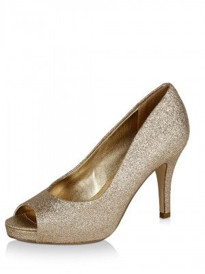 Steve Madden Glittery Peep -Toes purchase from koovs.com