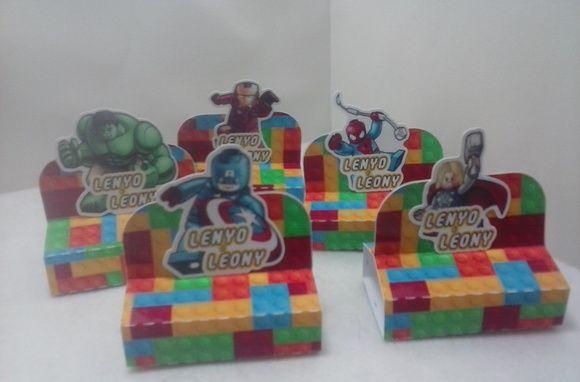 Porta Bis duplo LEGO MARVEL