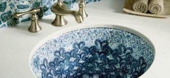 Küçük Banyolar İçin Modern Lavabo Modelleri