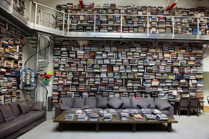 Seeing Different: The Artful Home Library with Diane Keaton Remodelista