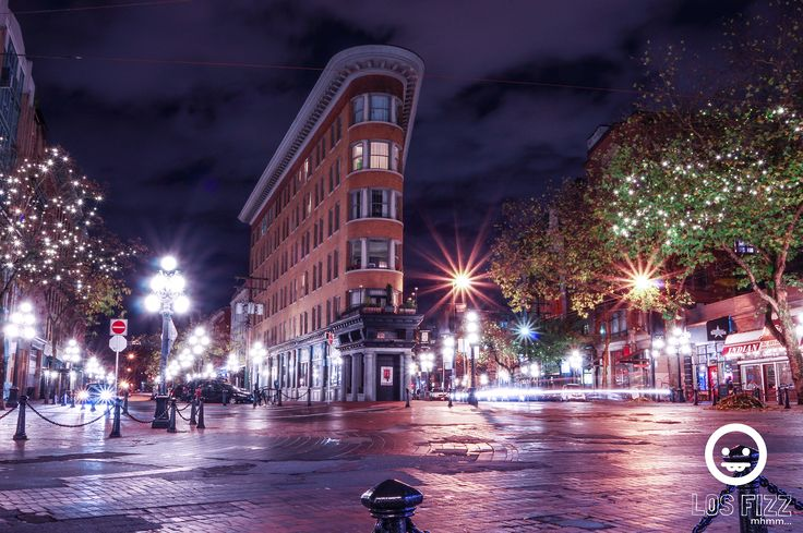 Flatiron Building In Gaston. Hotel Europe. Gastown, Vancouver, British Columbia, Canada. Pentax K3. Shot By Los Fizz of http://www.losfizz.com/photography