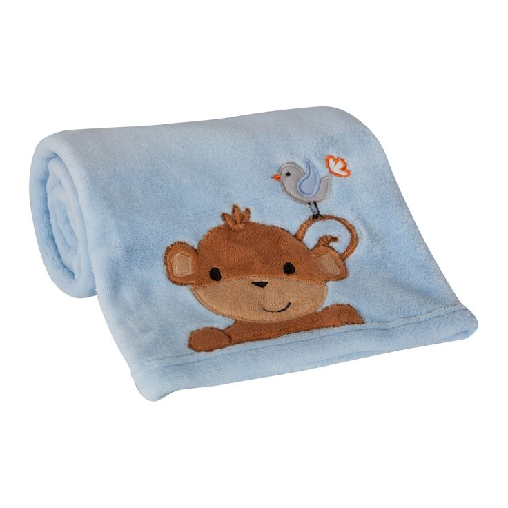 Bedtime Originals Blanket - Mod Monkey