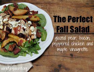 ... Salad Recipes on Pinterest | Fall salad, Four bean salad and Maple