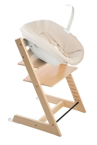 Love stokke trip trap chairs forever - love their new baby chair addition
