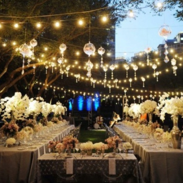 27 best wedding reception decor images on pinterest dream wedding outdoor wedding lighting workwithnaturefo