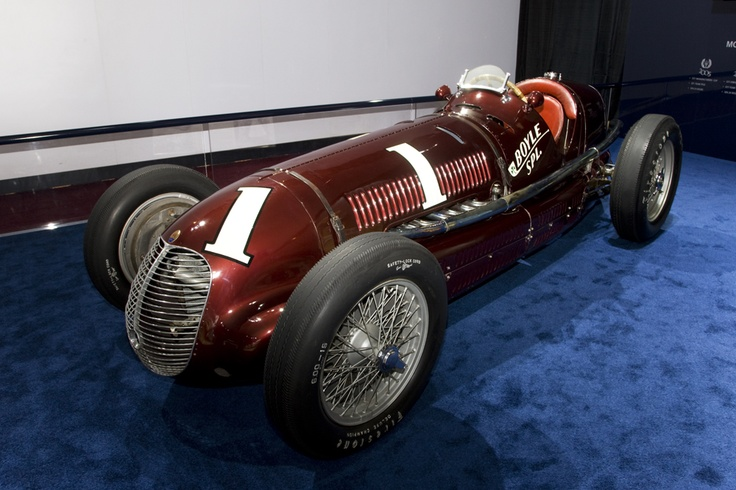 Maserati 8CTF: the Boyle Special, the Maserati that won the Indy 500