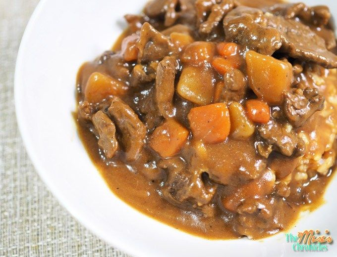 In The Kitchen Super Easy Japanese Beef Curry Recipe The Misis Chronicles Curry Recipes Beef Curry Japanese Beef