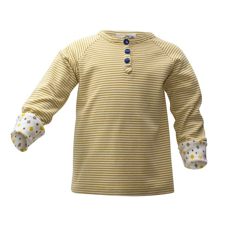 Gold Stripes Long Sleeve [Size Adjustable]