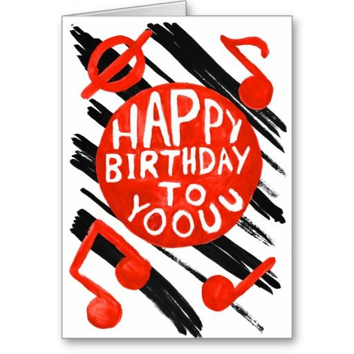 Singing Happy Birthday To Yoouu Card By Jodi Cox